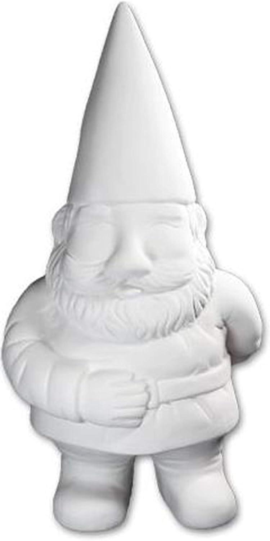 Biggie George The Garden Gnome - Paint Your Own Ceramic Keepsake