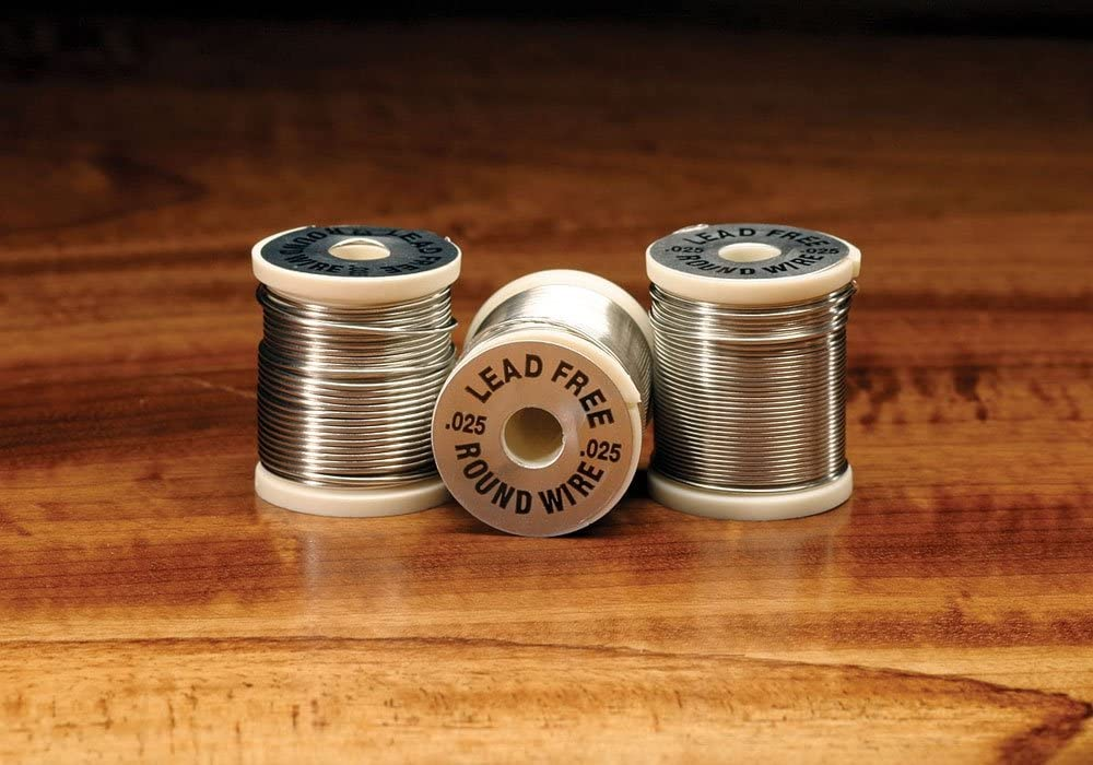 3 Spools of Copper Wire for Fly Tying 3 Spools of Lead Wire
