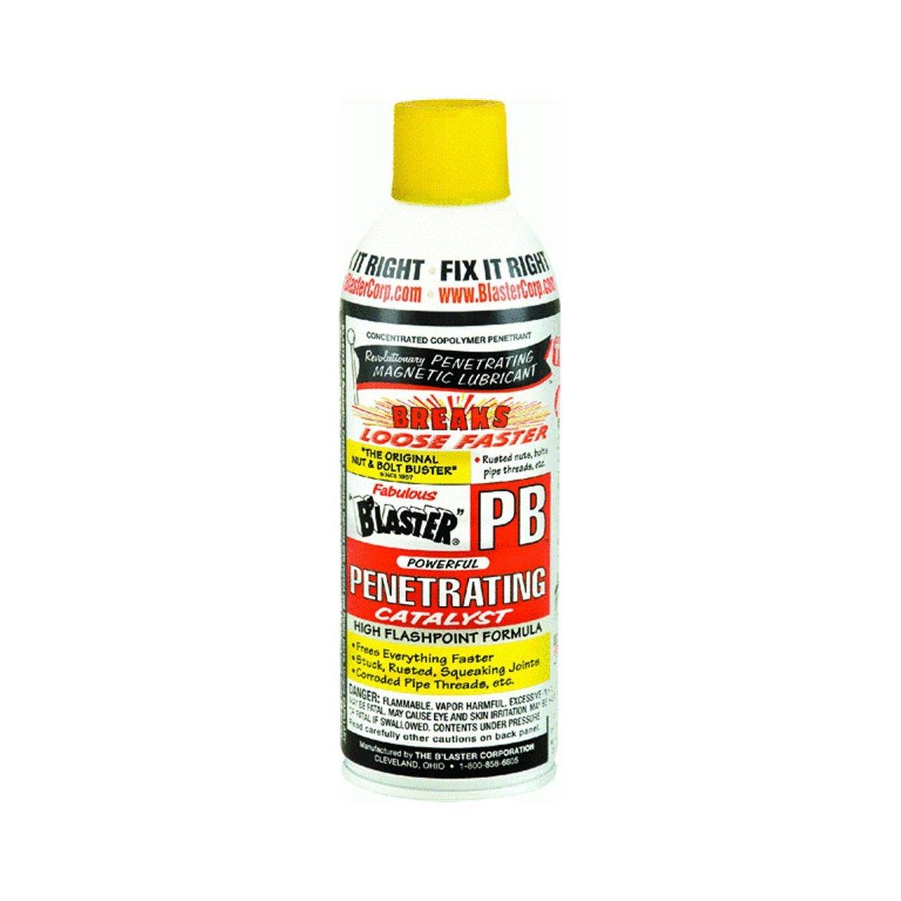 4. PB blaster penetrating the oil