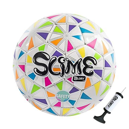 Balón de fútbol tamaño 3 para niño/niño/niña, suave TPU – colorido ...