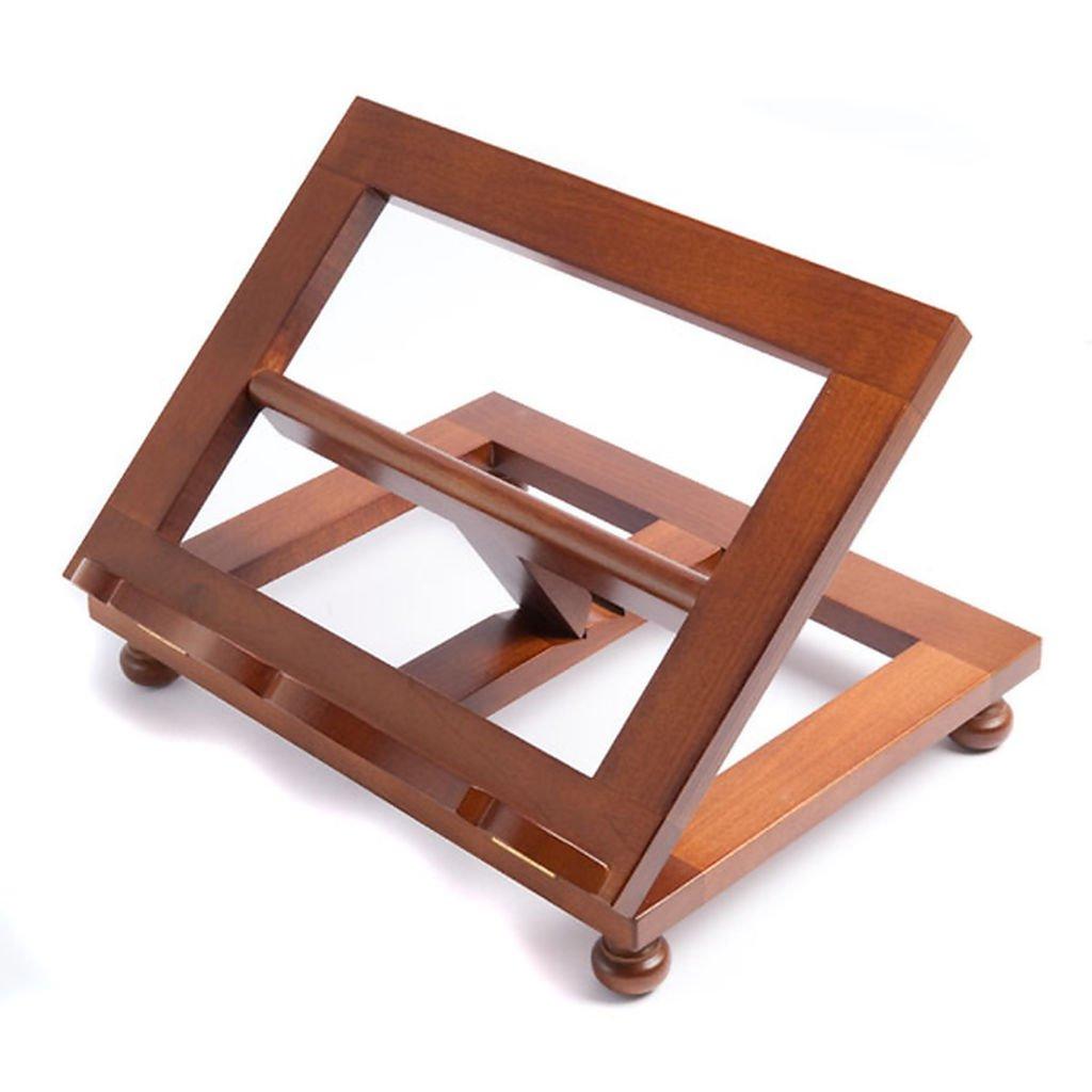 Holyart Pupitre de lecture, modèle en bois moderne, top
