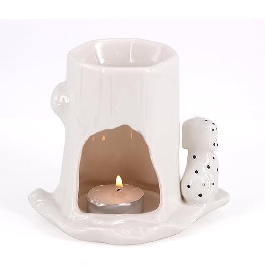 DELIWAY Calentador de velas de cera/cera, diseño de animales ...