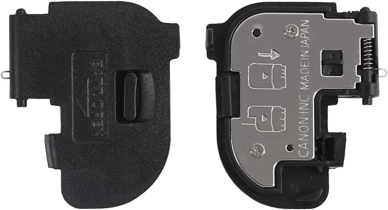 Shenligod Battery Door Cover Repair Part Lid Cap Replacement for Canon EOS 7D Mark II 7D2 Digital Camera Repair Part