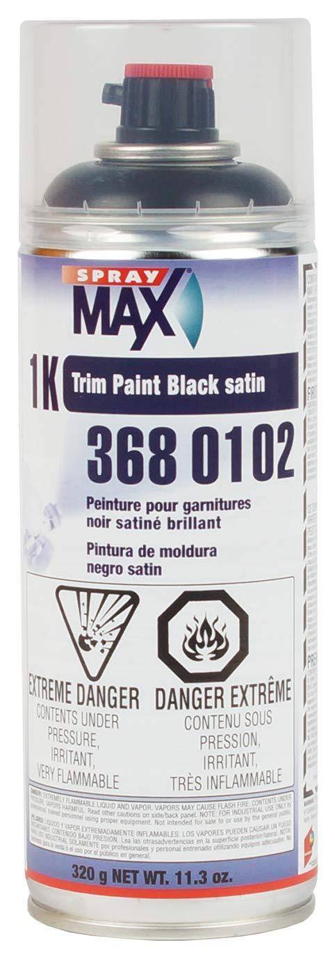 U.S. Chemical & Plastics Trim Paint Satin Black (USC-3680102)