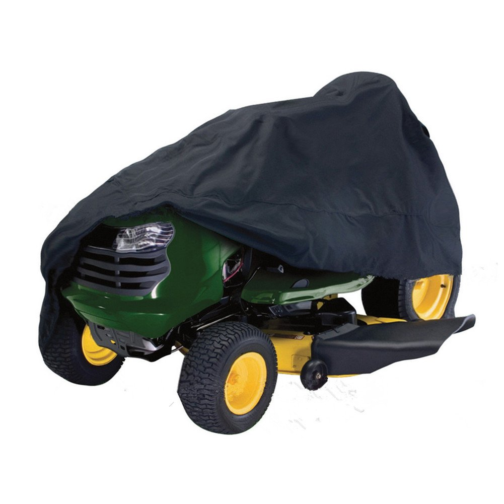 Labellevie 210D Lawn Tractor Cover Heavy Duty Waterproof Polyester Material with Ultraviolet Resistant and 54 Universal Fit Size J0583