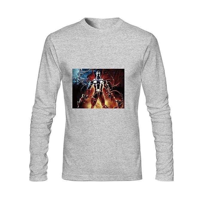 huotrey Spawn moda camisetas XXL), color gris: Amazon.es: Ropa y accesorios