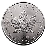 2016 SILVER MAPLE LEAF COIN 1 oz 9999 PURE by Royal Canadian Mint