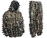 Hec Suit Best Deals - Ambush HD Brown Leafy Camouflage Hunting Suit (Large)