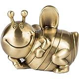 高級金属工芸子供の贈り物、ヨーロッパのクリエイティブパーソナリティ子供の貯金箱、かわいい横たわっている蜂チェンジ缶、11×10×9センチ