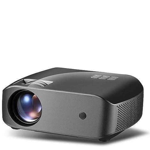 WENXX Proyector Video Portátil Proyector De Cine En Casa 2800 ...