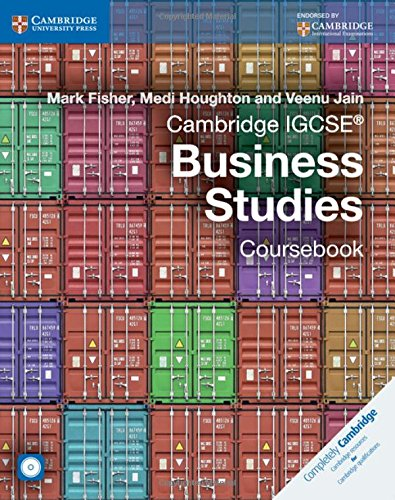 Cambridge IGCSE� Business Studies Coursebook with CD-ROM (Cambridge International IGCSE)