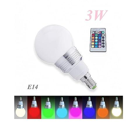 BlueBD GmbH - Lote de bombillas LED RGB (grado de calidad energética: