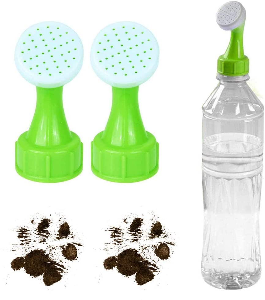 2pcs Bottle Head Attachment Turns any Plastic Water Bottle into Portable Dog Shower Portable Outdoor Shower for Dogs Camping Shower for Pets