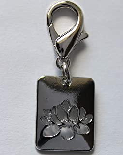 product image for Diva-Dog Lotus Dog Collar Charm or Keychain