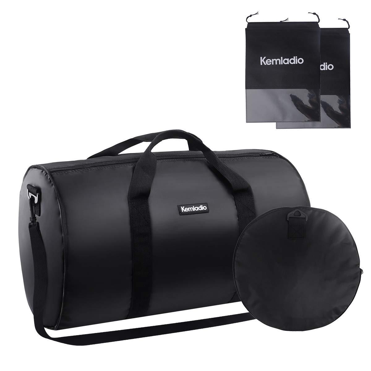 Foldable Lightweight Travel Duffle Bag, Kemladio Water Rresistant Packable Bag Luggage