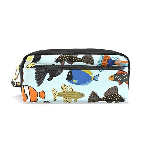 Mignon Dessin Bennigiry Animé Grande Trousse Contenance Aquarium 6ybgYf7