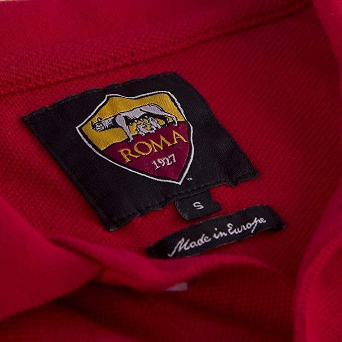 AS Roma - Polo de Manga Corta Unisex para Adulto: Amazon.es ...