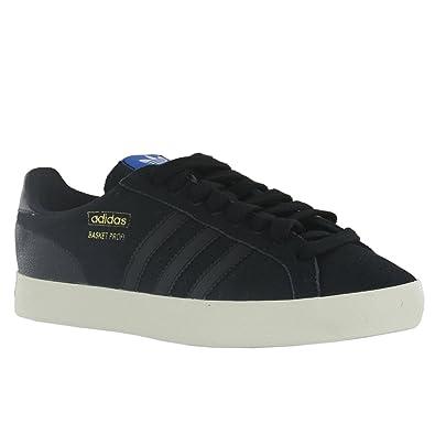cozy fresh 9e7ca fdbae Adidas Basket Profi Lo Black Womens Trainers Size 6 UK Amazon.co.uk Shoes   Bags