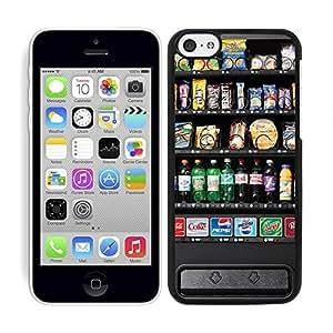 Funda carcasa para Apple iPhone 5C diseño máquina expendedora borde negro