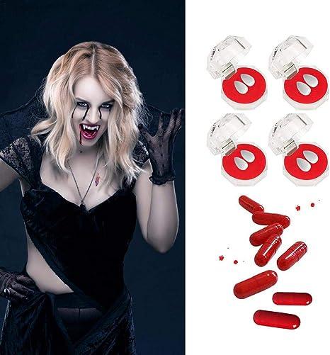 Party Werewolf Costume Halloween Zombie Denture Vampire Teeth Fangs Fancy