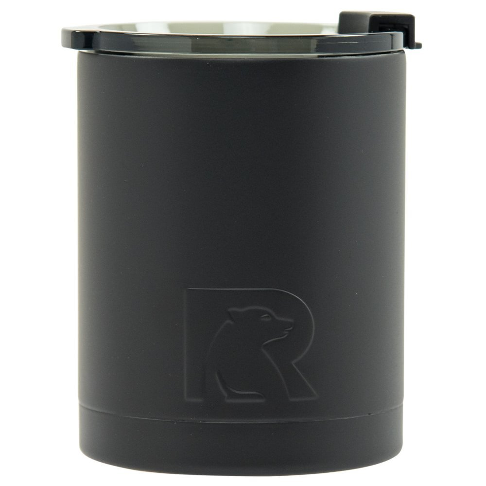 RTIC Double Wall Vacuum Insulated 12oz Lowball Tumbler (Black)