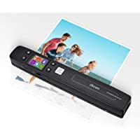 Magic Wand Portable Scanners for Document, Receipts, Old Pictures Built-in WiFi, 1050/600/300 DPI Resolution, Scan A4…