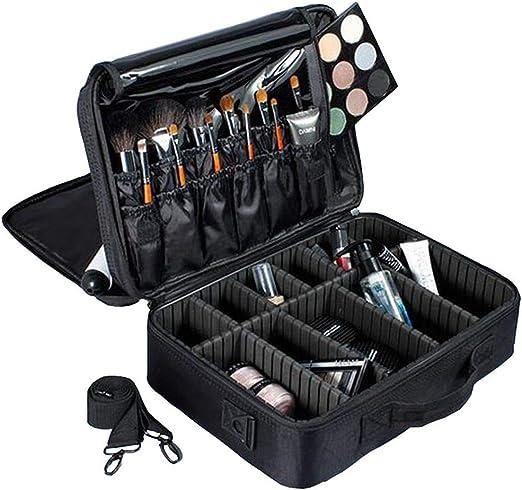 CFHMXN Maquillaje Cajas Estuche de Maquillaje Multifuncional Maleta de Viaje Maletín de Maquillaje Profesional Neceser Profesional Bolso Organizador: Amazon.es: Hogar