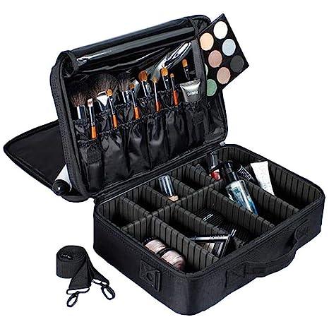 CFHMXN Maquillaje Cajas Estuche de Maquillaje Multifuncional ...