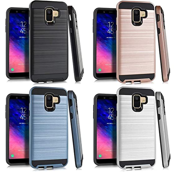 NP MET Shock Absorb Phone Cover Case For Samsung Galaxy A6 2018
