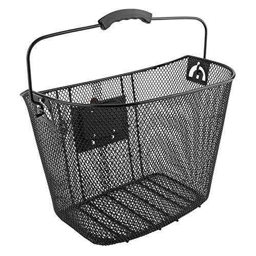 Sunlite Deluxe Quick Release Basket Ft Mesh Q/r Bk 22.2/26.0