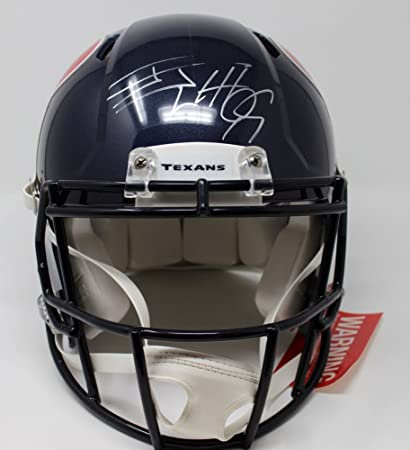 Image Unavailable. Image not available for. Color  Jj Watt Signed  Autographed Houston Texans F S Speed Proline Helmet JSA Certified Wp485315 1ccc85b58