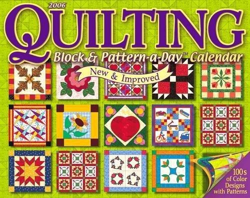 2006 Quilting Block & Pattern-a-Day Calendar