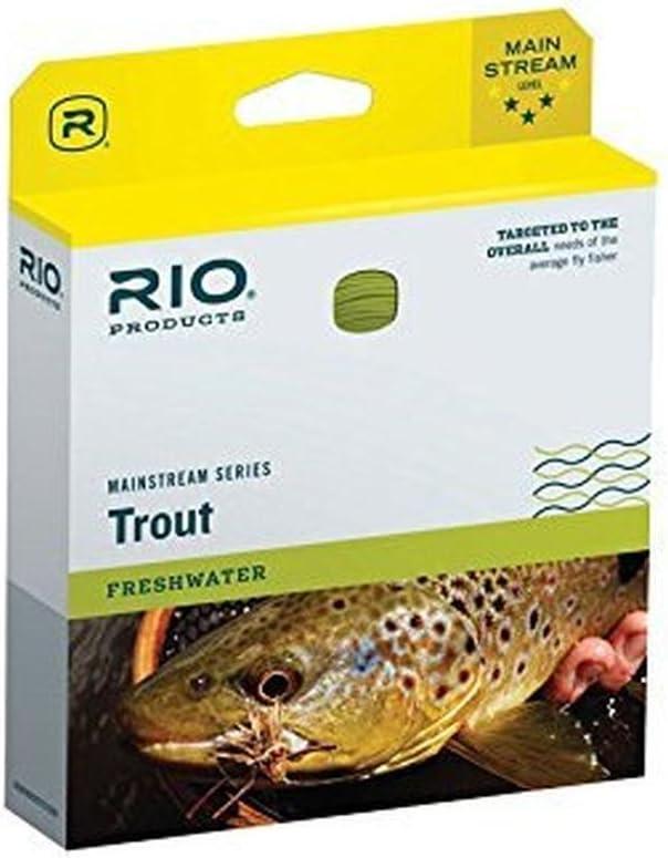 RIO BRANDS Mainstream Trout Wf8f Lmn Grn