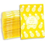 "YGEOMER 60pcs Bubble Mailers 4.7"" x 8.6"" 60pcs Poly Mailers Yellow Self-Seal Padded Envelopes Pineapple Envelopes (Yellow) (Yellow)"