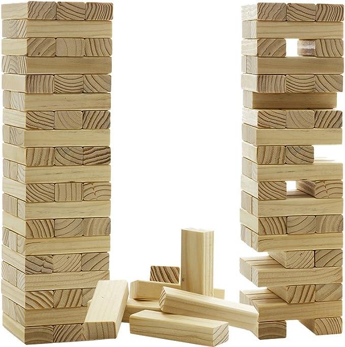 Jenga - Torre de madera: Amazon.es: Hogar