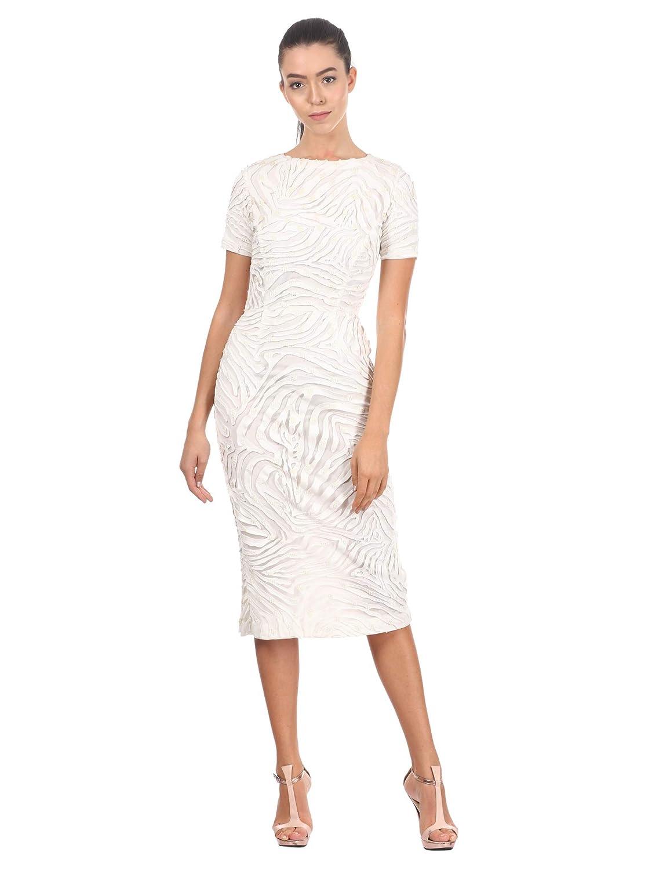 Pankaj and Nidhi Women's Body Con Knee-Long Dress