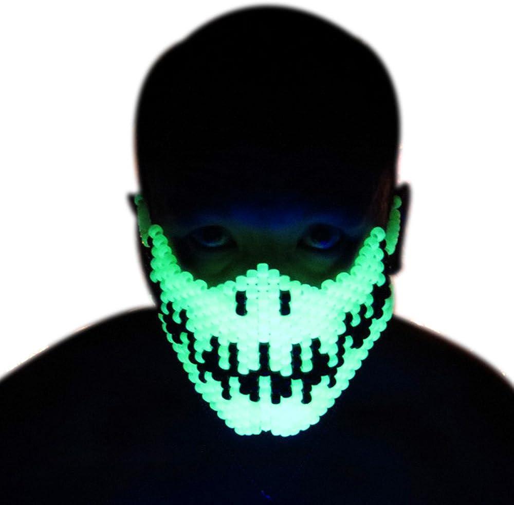 Skeleton Kandi Mask