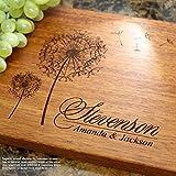 Personalized Cutting Board, Custom Keepsake, Engraved Serving Cheese Plate, Wedding, Anniversary, Engagement, Housewarming, Birthday, Corporate, Closing Gift #406