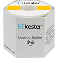 Kester 44 Lead Solder Wire - +682 F Melting Point - 0.025 in Wire Diameter - Sn/Pb Compound - 37 % Lead - 24-6337-0018…