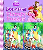 Disney Princess Look and Find Picture Puzzles