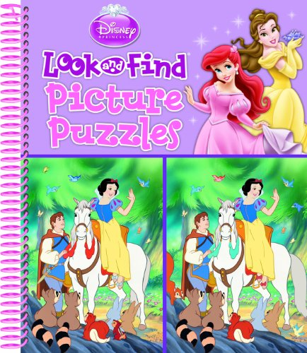 Disney Princess Look and Find Picture Puzzles ()