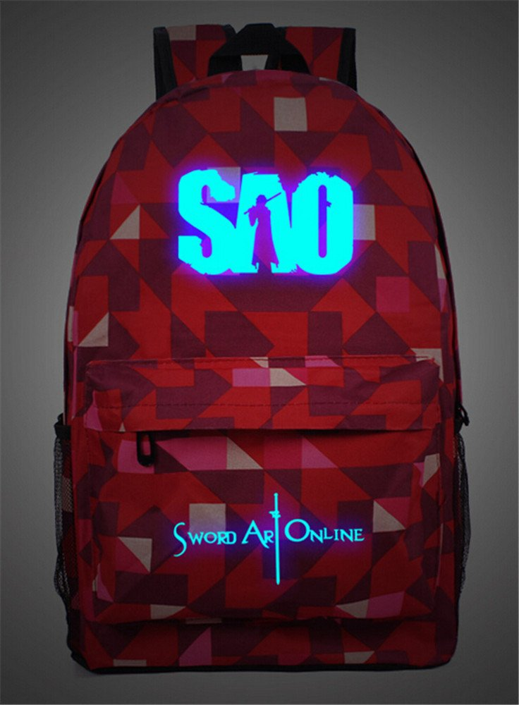 Rikki Knight Peace Love Surgeon Red Color Messenger Bag School Bag