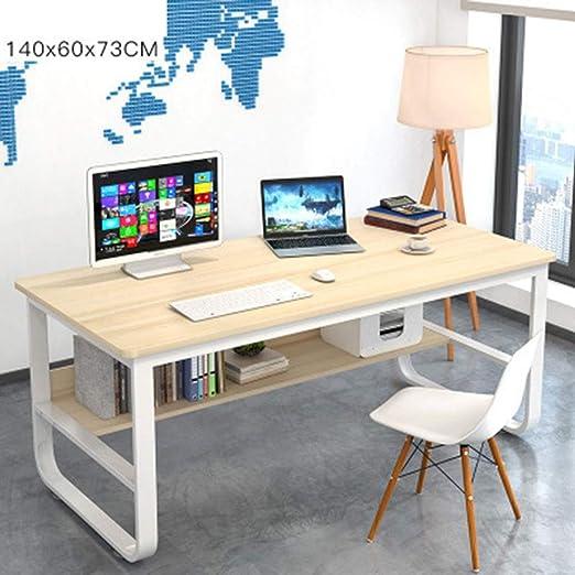 Escritorio de computadora Estudio simple moderna Mesa de ordenador ...
