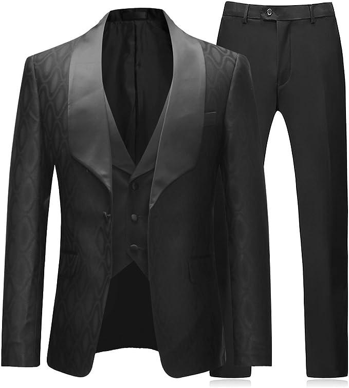 Amazon.com: Boyland - Traje de novia, 3 piezas, tuxedos, un ...