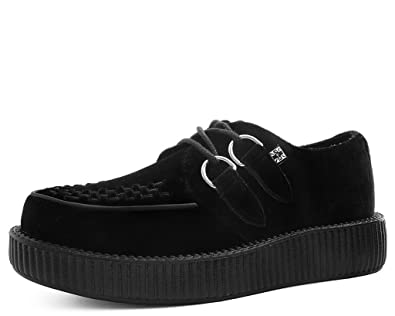 Low u kShoes Viva Men Es Velvet Creeper T Black Damen EDI29H