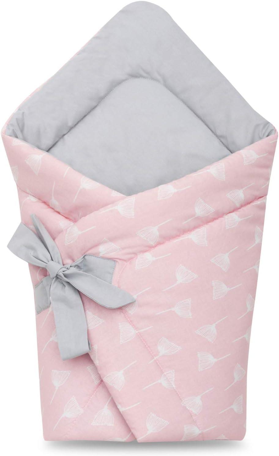 Mantita para bebés recién nacidos, hecha con algodón suave al 100 % y en forma vertical Diente de león
