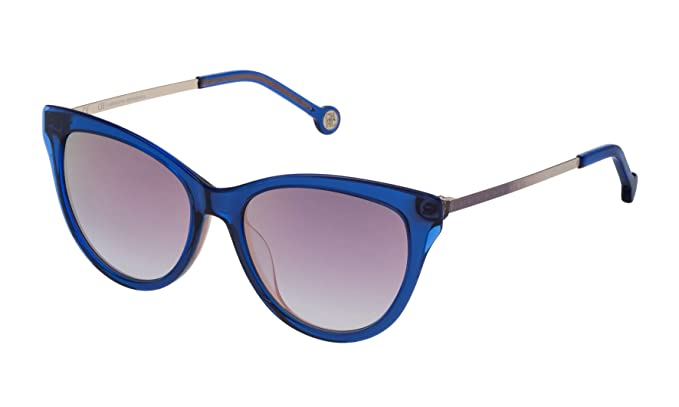 Carolina Herrera SHE75353D25R Gafas de Sol, Azul, 53 para ...
