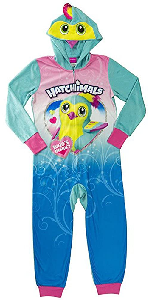 Hatchimals Little/Big Girls Long Sleeve Character Print Blanket Sleeper