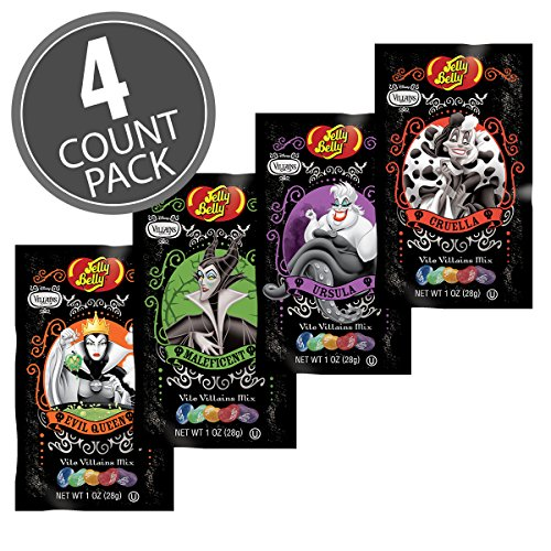 Jelly belly Vile Villains - 4 1 oz packs