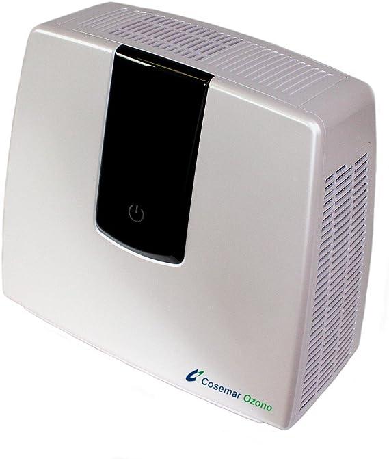 Purificador de aire doméstico digital, ionizador de aire, filtro de carbón activo, filtro HEPA para personas alérgicas, asmáticas, tamaño de habitación recomendada 30 m², elimina malos olores: Amazon.es: Hogar